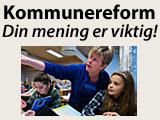 Kommunereform - din mening er viktig!